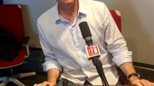 L'écrivain suisse Patrick Straumann
