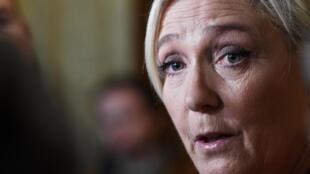 Марин Ле Пен хочет стать «кандидатом всех французов», а не какой-то одной партии. Фото 19.02.2020