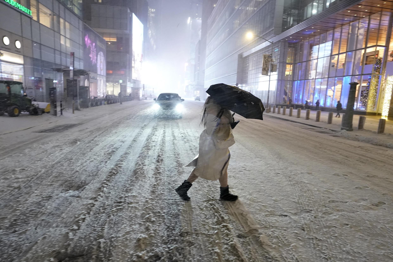 نمای از شهر نیویورک، پنجشنبه هفدهم دسامبر ۲۰۲۰