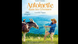Affiche du film «Antoinette dans les Cévennes», de la réalisatrice Caroline Vignal.