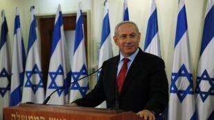 Le Premier ministre Benyamin Netanyahu, à Jérusalem le 23 janvier 2013.