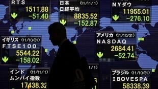 Presque toutes les Bourses mondiales ont reculés en 2011.