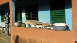 Un centre de santé à Gomboussougou, dans le sud du Burkina Faso.