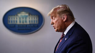 Rais wa zamani wa Marekani  Donald Trump