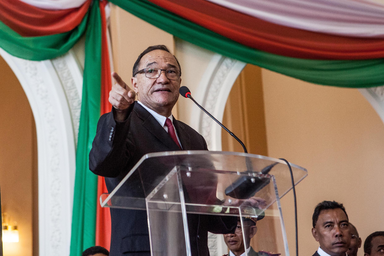 Le Premier ministre malgache Kolo Roger.