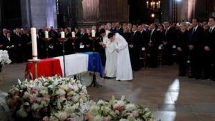 Último adeus a Jacques Chirac