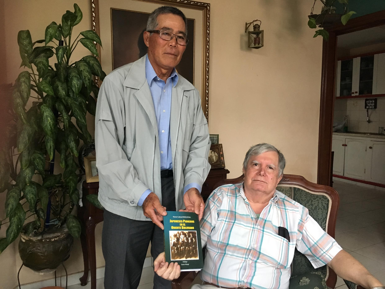 AL Kunio Miyagi e Dr. Mario Gabriel.