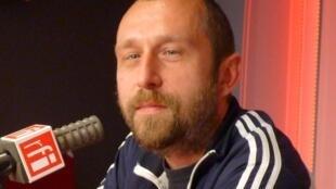 Romain Dutter en RFI
