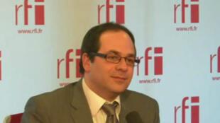 Emmanuel Maurel, vice-président PS du Conseil régional d'Ile-de-France.