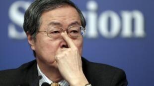 Le gouverneur de la Banque centrale chinoise Zhou Xiaochuan ne participera pas à la réunion du FMI à Tokyo.