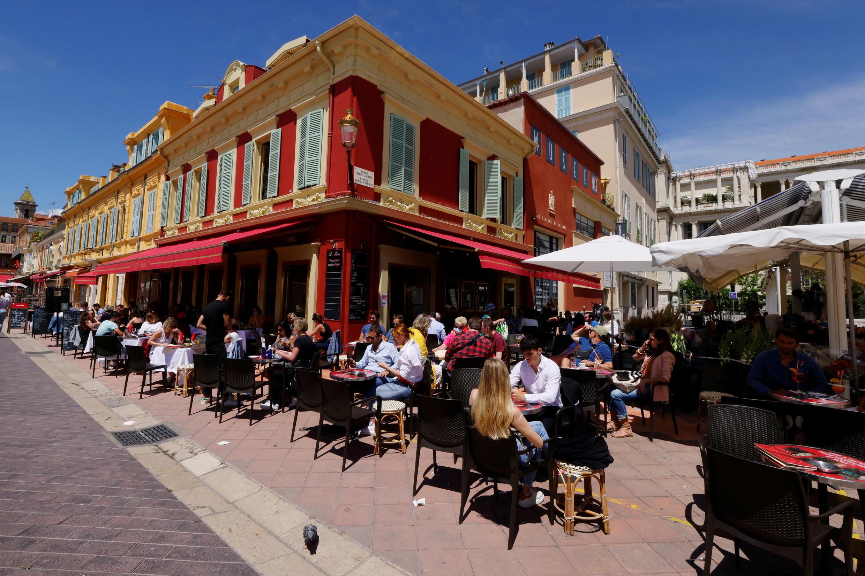 Restaurants terrasses Nice France