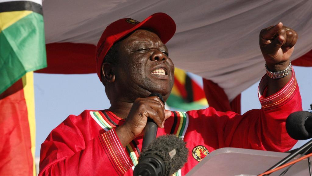 Morgan Tsvangirai wa chama cha MDC.