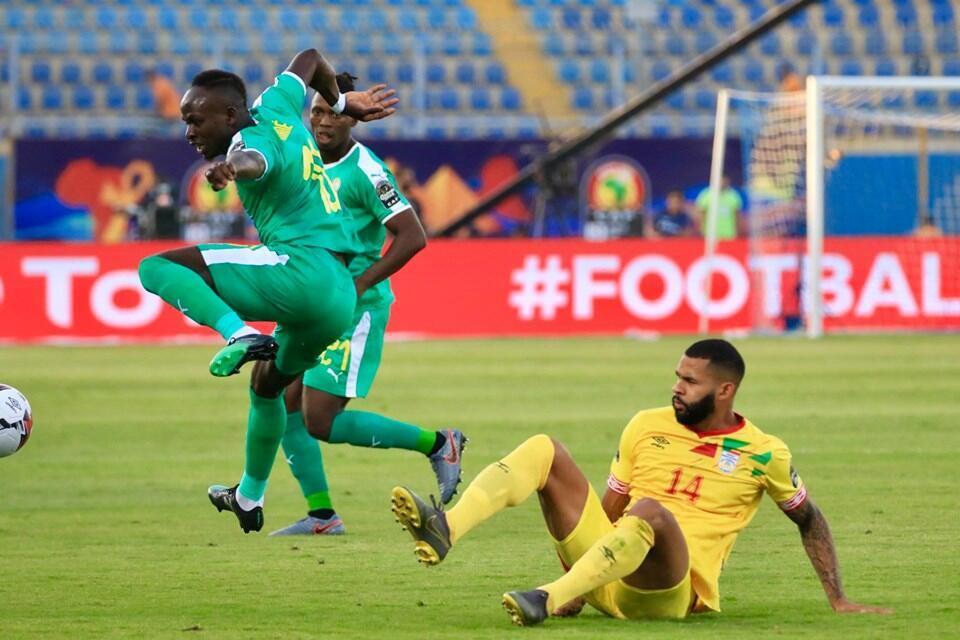 Cebio Soukou yayin wasa tsakanin Benin da Senegal
