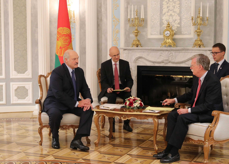 Джон Болтон встретился с Александром Лукашенко в Минске 29 августа 2019