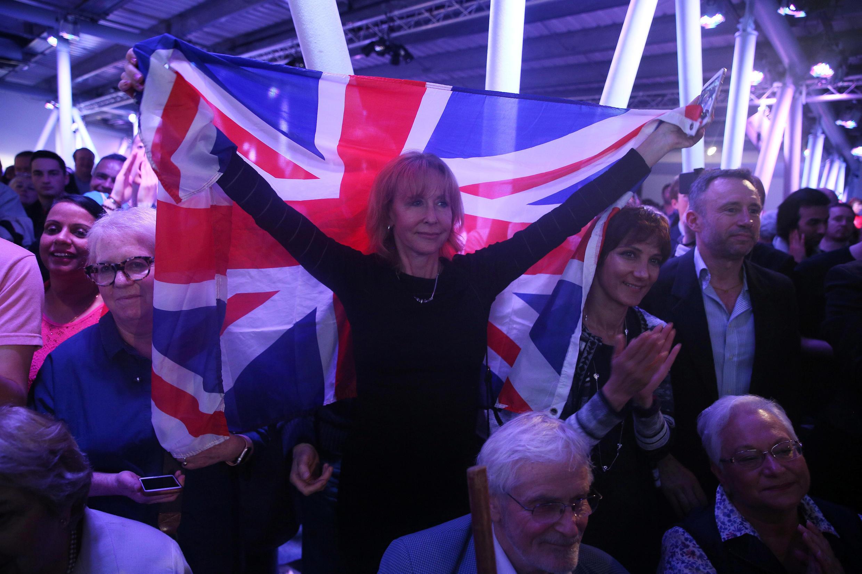 Phe ủng hộ Brexit ăn mừng chiến thắng hôm 24/06/2016.