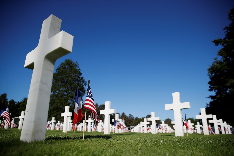 Американское военное кладбище в Кольвиль-сюр-Мер