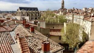 Vue de Montpellier, dans l'Hérault. (Image d'illustration)