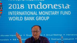 O presidente do Banco Mundial, Jim Yong Kim, apresentou os resultados do Índice de Capital Humano em Bali