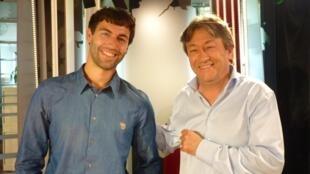 Santiago Esses y Jordi Batallé en RFI