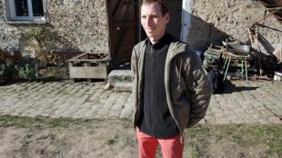 Rémi Seignier, agriculteur bio à Lumigny en Seine-et-Marne.