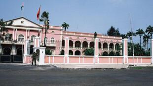 Palácio presidencial em São Tomé