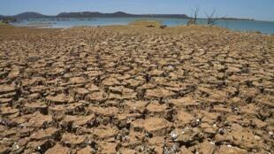 Seca no Nordeste Brasileiro. Foto-ilustração