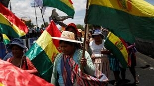 Wata kasuwa a kasar Bolivia da akasarin yan yawon bude ido ke ziyarta
