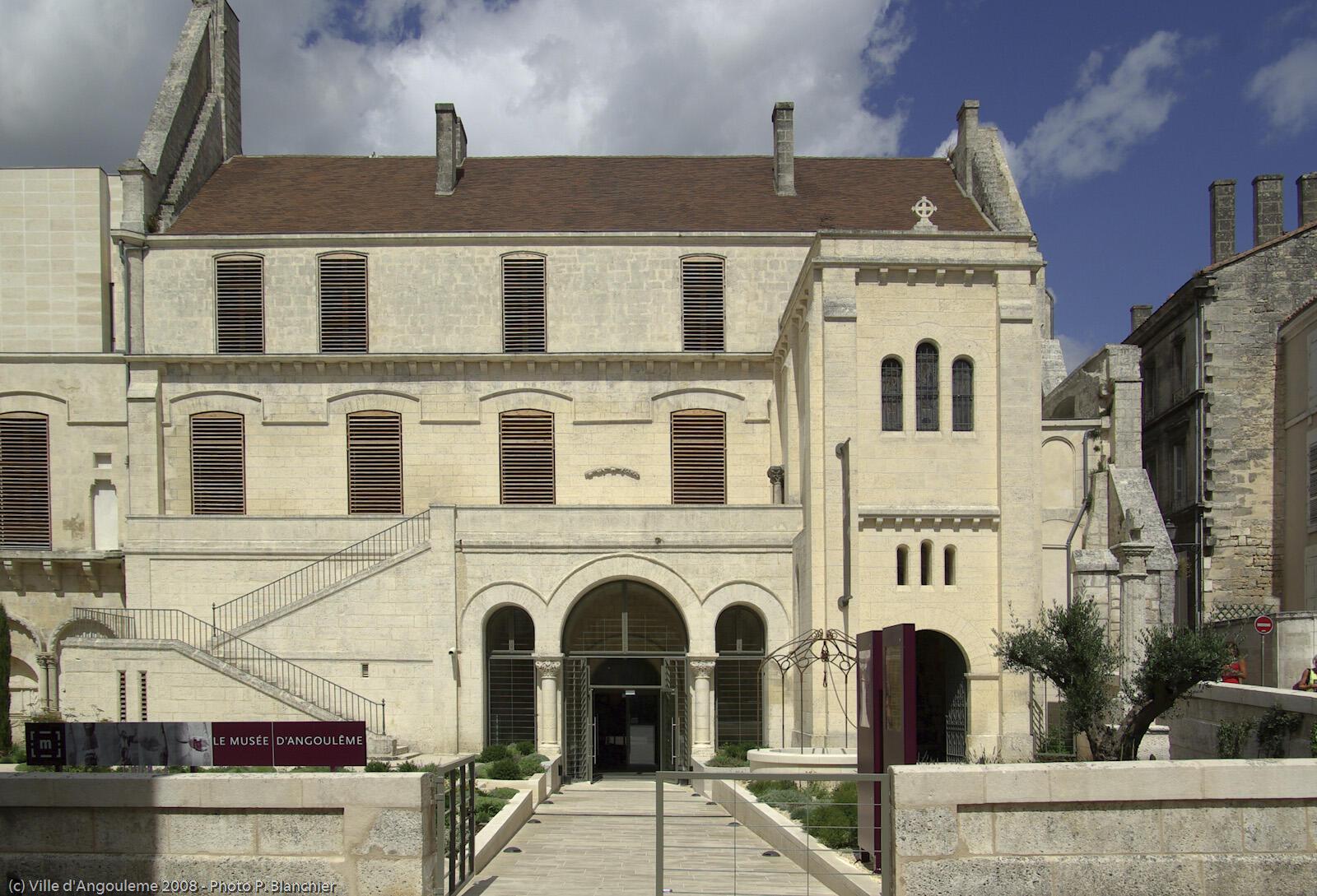 Le musée des Beaux-Arts d'Angoulême