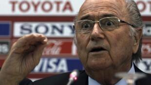 Shugaban hukumar kwallon kafa ta FIFA, Sepp Blatter