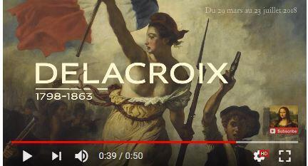 德拉克罗瓦代表法国浪漫主义作品强调主观情感、追求个性表现