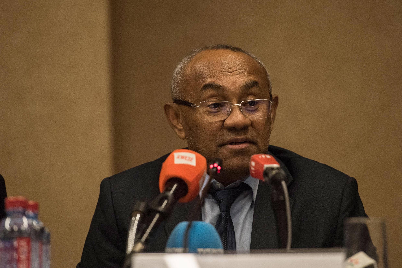 Rais wa Shirikisho la soka barani Afrika (CAF) Ahmad Ahmad