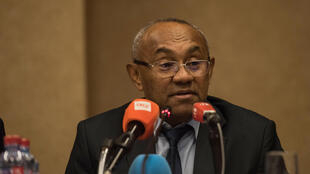 Rais wa soka barani Afrika Ahmad Ahmad