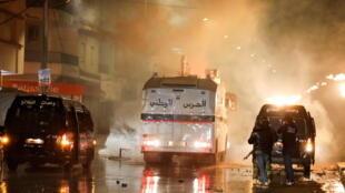 Tunisie manifestation heurts tunis