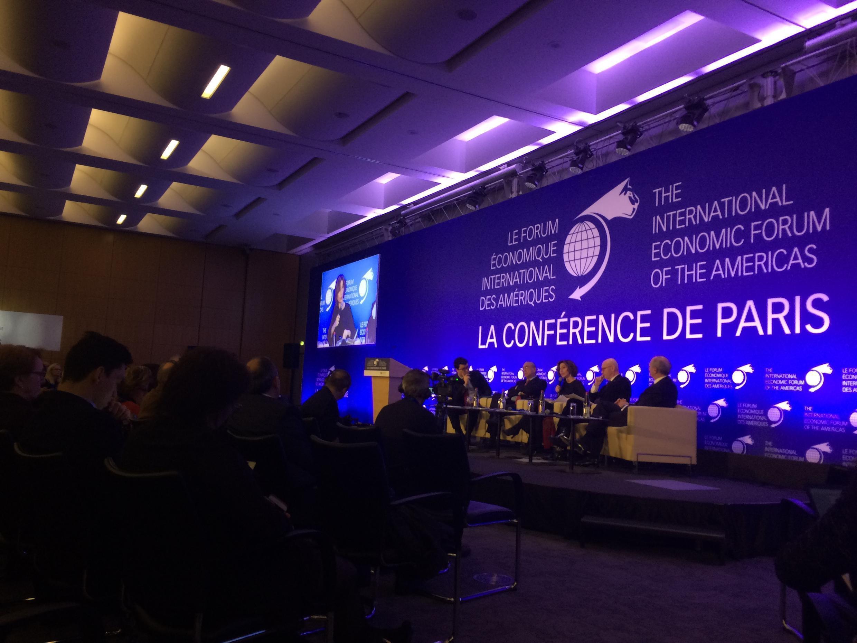 Debating globalisation at the Forum of the Americas in Paris