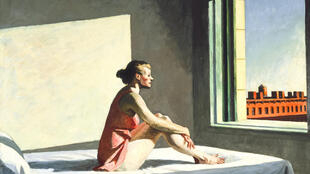 Morning Sun by Edward Hopper, 1954