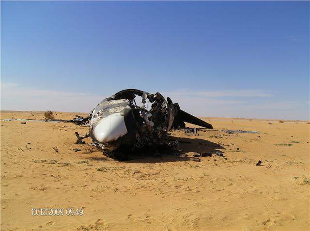 L'avion de la cocaïne, à 200 km au nord de Gao, au Mali.