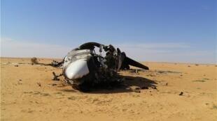 « L'avion de la drogue », à 200 km au nord de Gao, au Mali.