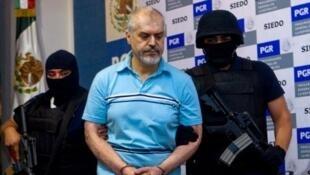 Eduardo Arellano-Felix, l' un des barons mexicains de la drogue, arrêté en 2008 (photo), a été extradé vers les Etats-Unis pour y être jugé.