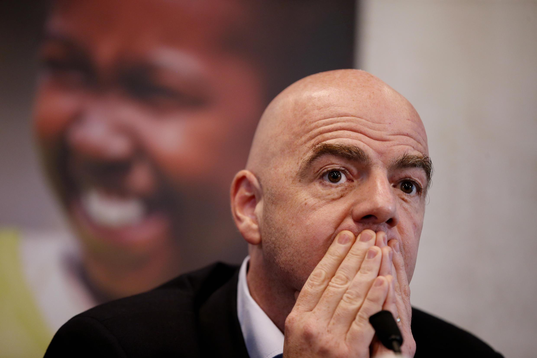 Le président de la FIFA, Gianni Infantino.