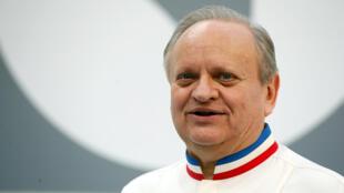 Le chef Joel Robuchon, décédé le 6 août 2018.
