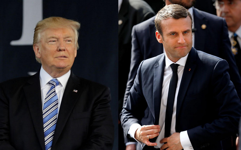 O novo presidente francês, Emmanuel Macron e o presidente americano, Donald Trump, terão um encontro em Bruxelas no próximo 25 de maio.