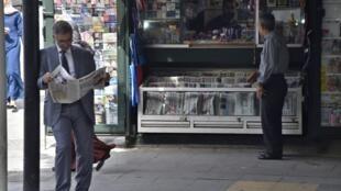En raison de cette affaire, le quotidien francophone Le Temps d'Algérie n'est pas paru ce mercredi (image d'illustration)