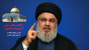 حسن نصرالله رهبر حزب الله لبنان