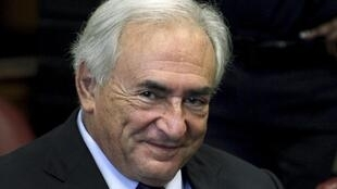 O ex-diretor do FMI, Dominique Strauss-Kahn.