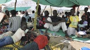 Au Soudan, les populations ont fui le Kordofan-Sud pour échapper aux combats.