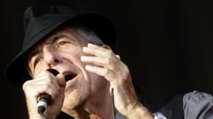Leonard Cohen en 2008, en España.