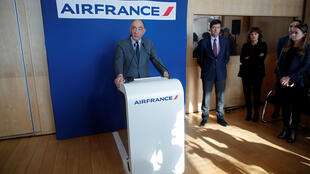 Air France boss Jean-Marc Janaillac announces he will resign on Friday