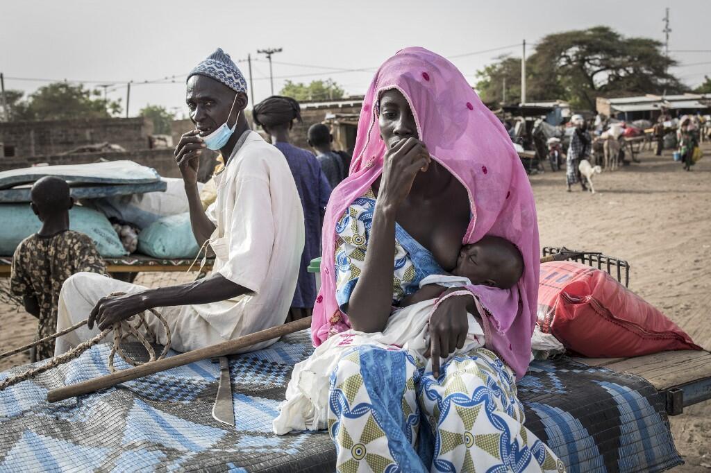 Une femme peul sur le marché de Barkedji, dans la région de Louga, au Sénégal (image d'illustration).