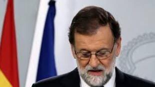 西班牙首相馬里亞諾·拉霍伊資料圖片