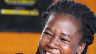 L'autrice togolaise Afi Gbegbi.